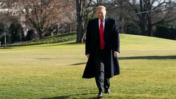"""Trump: wycofywanie wojsk USA z Syrii będzie odbywać się """"w odpowiednim tempie"""""""