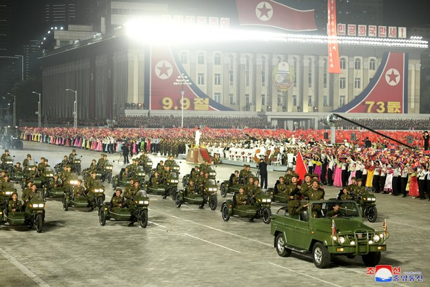 Defilada w Korei Płn.