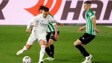 La Liga: Bezbramkowy remis Realu Madryt z Betisem Sewilla