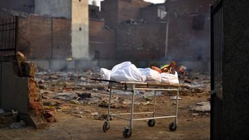 Indie. Rekordowa liczba zgonów w ciągu doby
