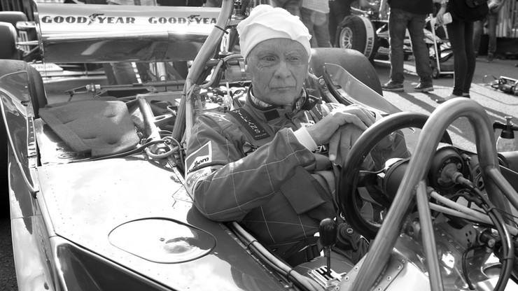 Niki Lauda zostanie pochowany w kombinezonie wyścigowym