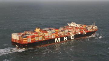 Kontenerowiec zgubił ładunek. Holenderska straż przybrzeżna udostępniła zdjęcia z incydentu