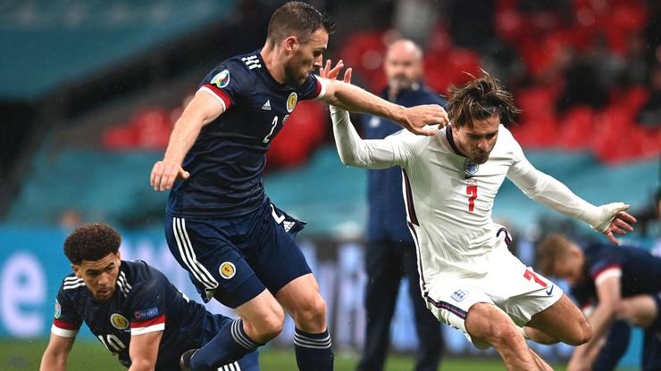 Euro 2020: Anglia - Szkocja. Wielkie emocje i podział punktów