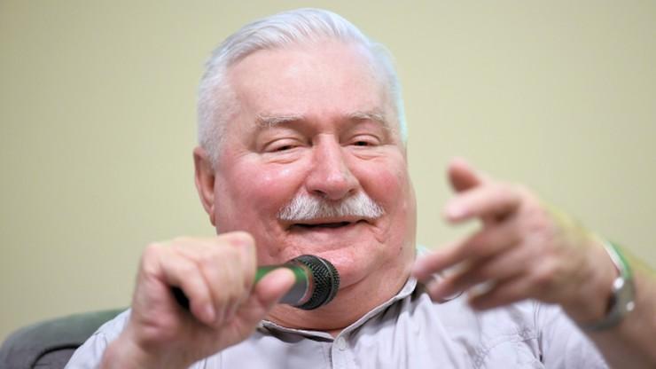 Wałęsa krytykuje postawę kościoła ws. protestujących w Sejmie. Pyta gdzie jest o. Rydzyk