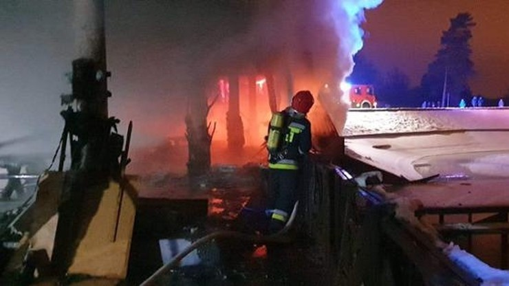 13-latek zatrzymany za podpalenie restauracji. Straty na ponad 2 mln zł