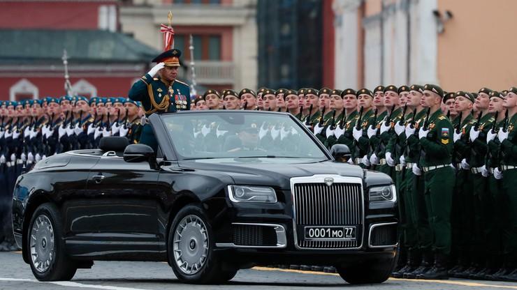 Rosja. Defilada wojskowa w Moskwie
