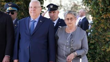 Żona urzędującego prezydenta Izraela zmarła w przeddzień urodzin