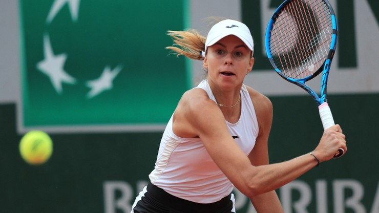 Roland Garros: Magda Linette odpadła w półfinale debla