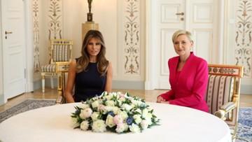 Spotkanie pierwszych dam Polski i USA. Najpierw Belweder, później Centrum Nauki Kopernik