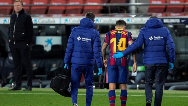 """""""As"""": Philippe Coutinho nie zagra przez kilka miesięcy"""