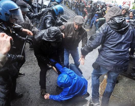 Zamieszki w Turynie