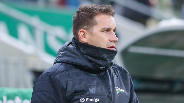 Ekstraklasa: Trener Lechii Gdańsk nie myśli o rezygnacji