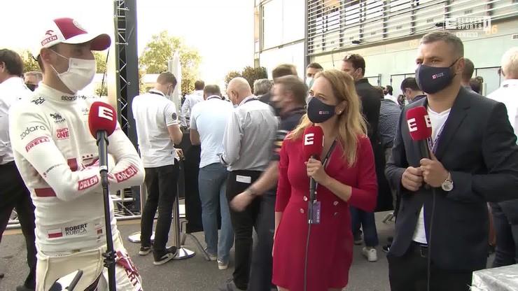 Robert Kubica po GP Włoch [ELEVEN SPORTS]