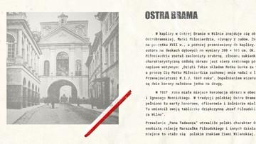 Ostra Brama motywem na polskim paszporcie - stanowczy sprzeciw Litwy