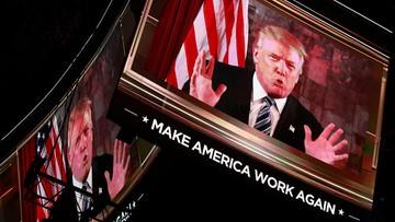 Trump oficjalnie kandydatem Republikanów w wyścigu o fotel prezydencki