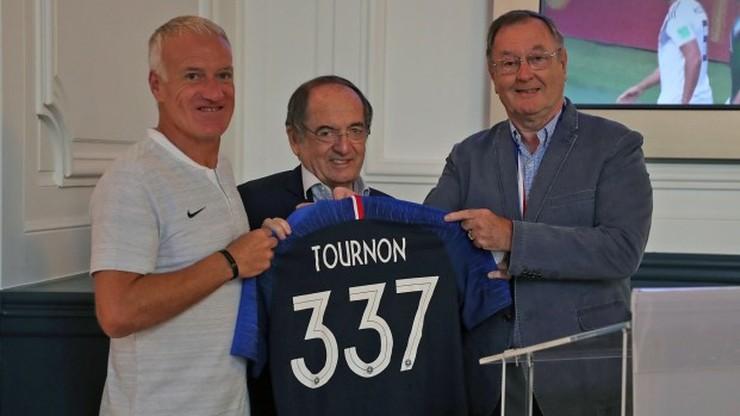 Fogiel: Trójkolorowa koszulka z numerem 337