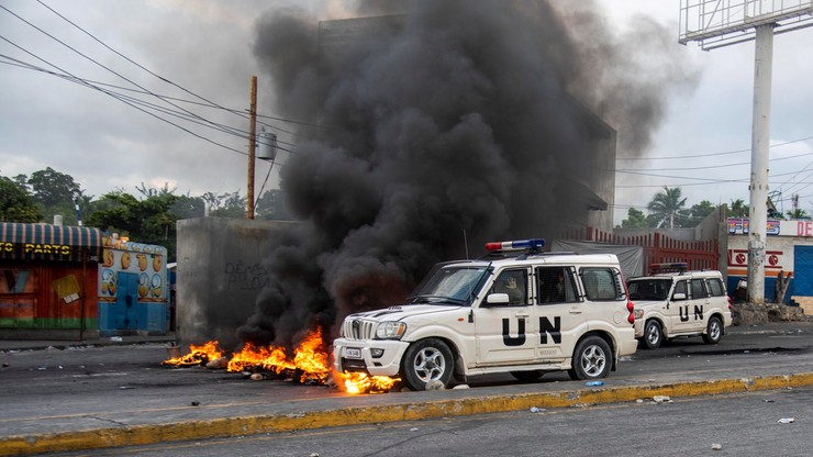 Antyrządowe protesty i wysoki poziom przestępczości. MSZ odradza podróże na Haiti