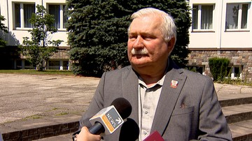 """""""Czekam na Guzikiewicza. Zobaczymy, kto będzie wyniesiony"""". Wałęsa o kontrmanifestacji 10 lipca"""