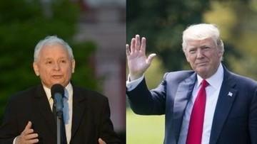 """Trump spotka się z Kaczyńskim? """"Jeśli strona amerykańska wystąpi o takie spotkanie, być może do niego dojdzie"""""""