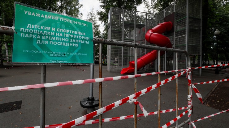 Dramatyczny wzrost zakażeń w Moskwie