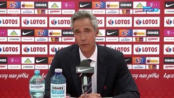 EURO 2020: Paulo Sousa zdradził plan minimum na mistrzostwa Europy