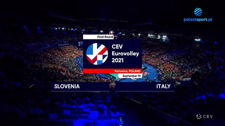 Słowenia – Włochy 2:3. Skrót meczu