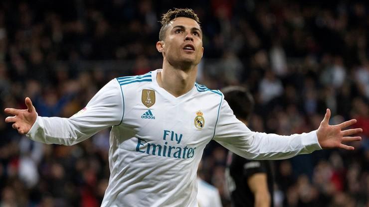 Ronaldo najlepszym strzelcem Realu Madryt w 2018 roku