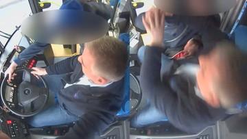 Szczecin: wtargnął do kabiny kierowcy autobusu i szarpał za kierownicę. Trafił do aresztu [WIDEO]