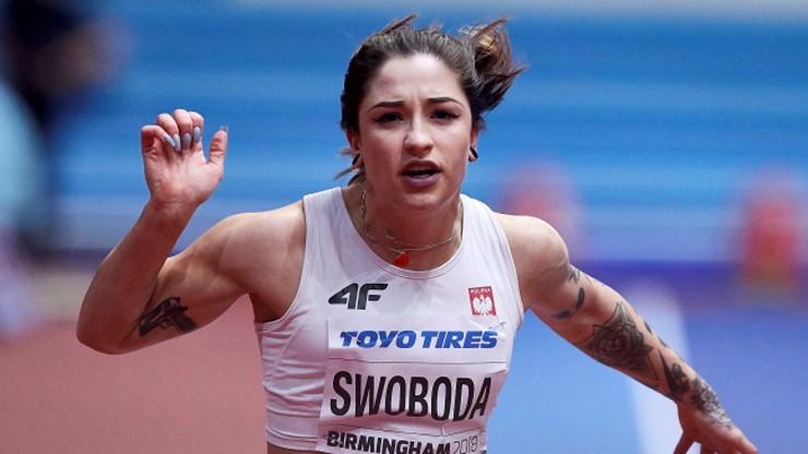 HMŚ Birmingham 2018: Kiełbasińska i Swoboda poza finałem biegu na 60 m