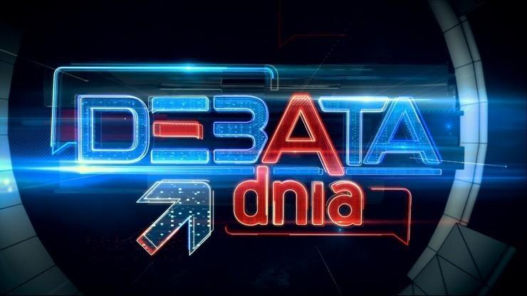 """Debata Dnia"". Transmisja od godz. 20"