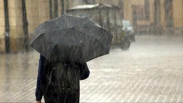 Pochmurno, deszczowo i chłodno. Pogoda na poniedziałek