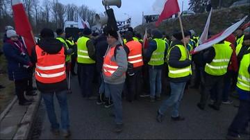 Protest rolników na S8. Przywrócono ruch w stronę Wrocławia