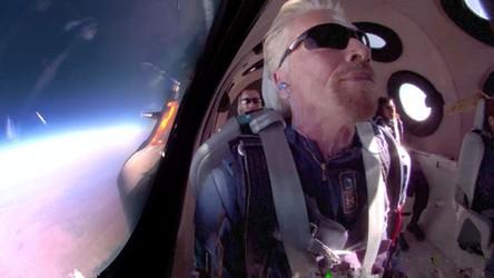 Richard Branson o mało nie zginął podczas swojego pierwszego lotu w kosmos