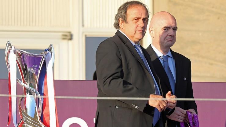 Fogiel z Paryża: Infantino vs. Platini, czyli wielka pogarda i żądza zemsty