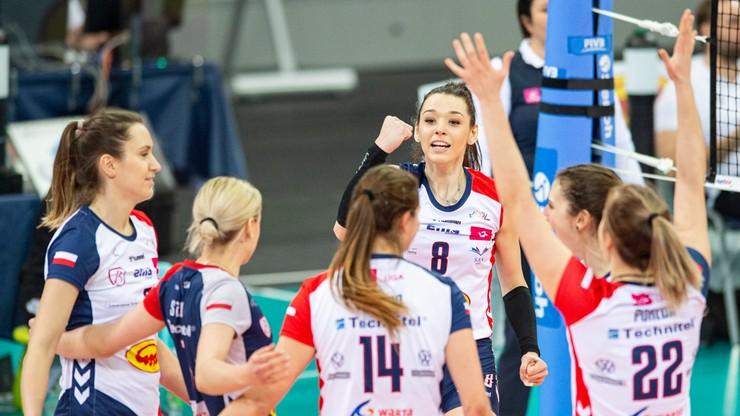 Siatkarki Grot Budowlanych Łódź zagrają w turnieju finałowym Tauron Pucharu Polski