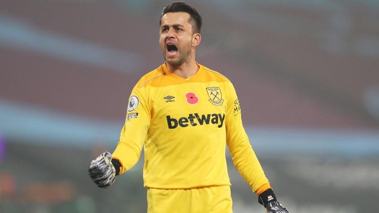Premier League: Łukasz Fabiański obronił rzut karny w derbach Londynu. Polak uratował zwycięstwo West Hamowi