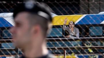 Zlikwidowano prowizoryczny obóz dla uchodźców w Atenach