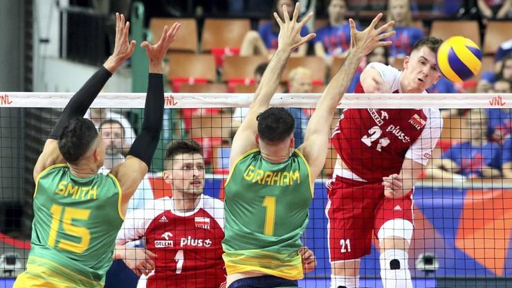 Liga Narodów siatkarzy 2021: Polska - Australia. Transmisja i stream online
