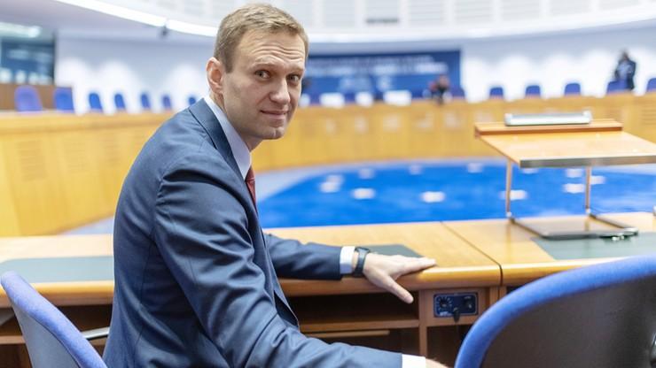 Aleksiej Nawalny wygrał w Strasburgu sprawę przeciwko Rosji