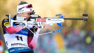 PŚ w biathlonie: Wygrana Eckhoff, Żuk dziesiąta w Ruhpolding