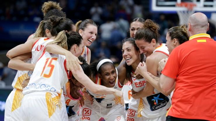 Francja i Hiszpania ponownie zagrają o złoto na mistrzostwach Europy koszykarek
