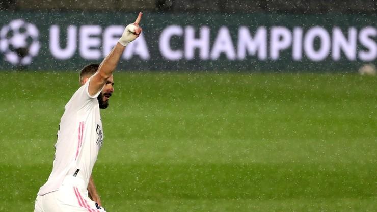 Liga Mistrzów: Karim Benzema strzelił 71. gola. Dogonił legendę Realu Madryt