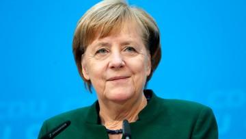Merkel zadeklarowała gotowość do rozmów z SPD ws. koalicji