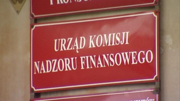 KNF cofnęła Polskiemu Domowi Maklerskiemu pozwolenie na działalność