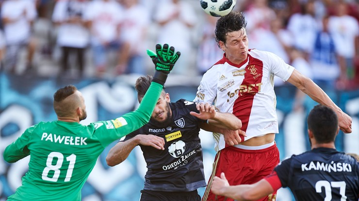 Fortuna 1 Liga. GKS Katowice - ŁKS Łódź. Transmisja w Polsacie Sport News