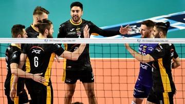 Liga Mistrzów siatkarzy: Szybkie zwycięstwo PGE Skry Bełchatów