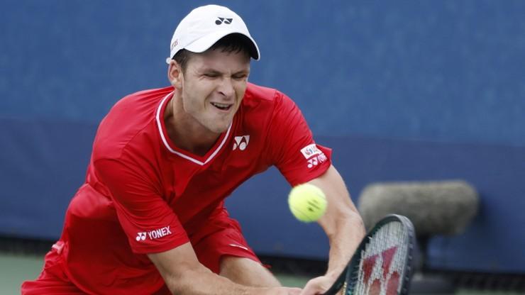 ATP w Kolonii: Hubert Hurkacz w ćwierćfinale singla
