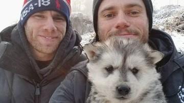Medalu nie zdobył, ale zyskał szacunek fanów. Olimpijczyk uratował psa przeznaczonego na rzeź