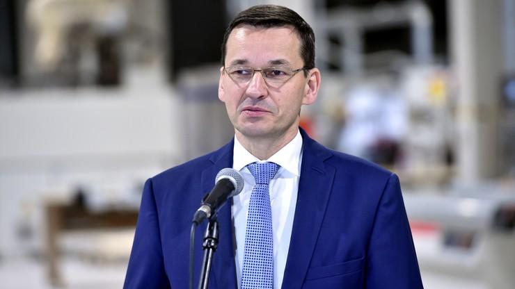 Morawiecki: premier spokojnie i zdecydowanie broniła interesów Polski