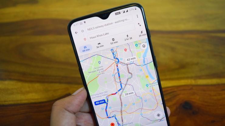 Nawigacja w Google Maps pokaże trasę najbardziej przyjazną środowisku